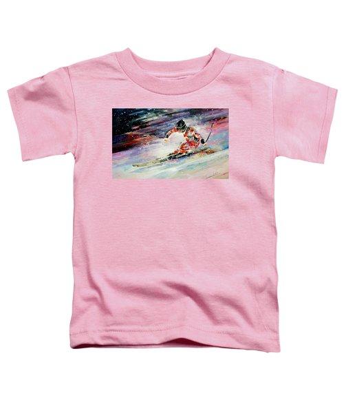 Skiing 01 Toddler T-Shirt