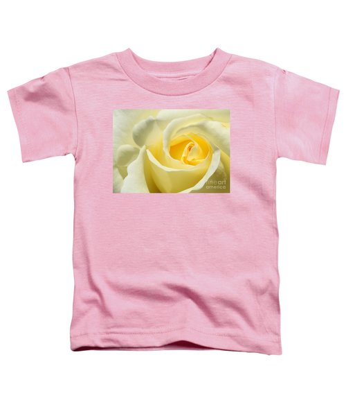 Soft Yellow Rose Toddler T-Shirt