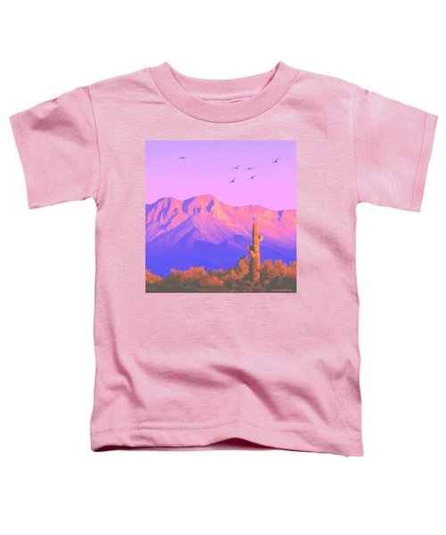 Solitary Silent Sentinel Toddler T-Shirt