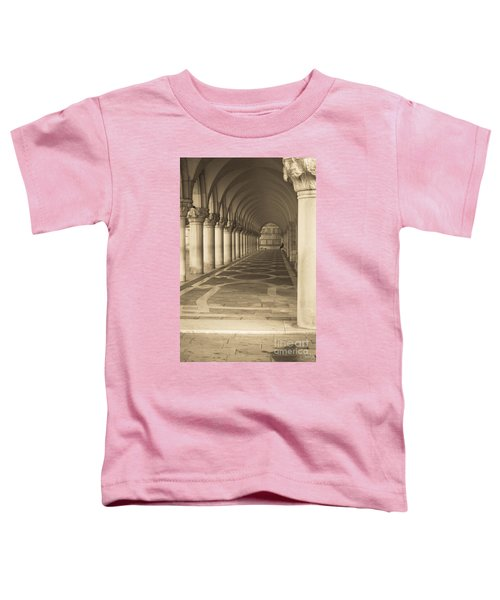 Solitude Under Palace Arches Toddler T-Shirt