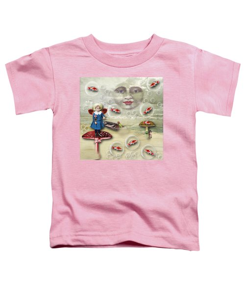 Something Fishy At The Shore Toddler T-Shirt
