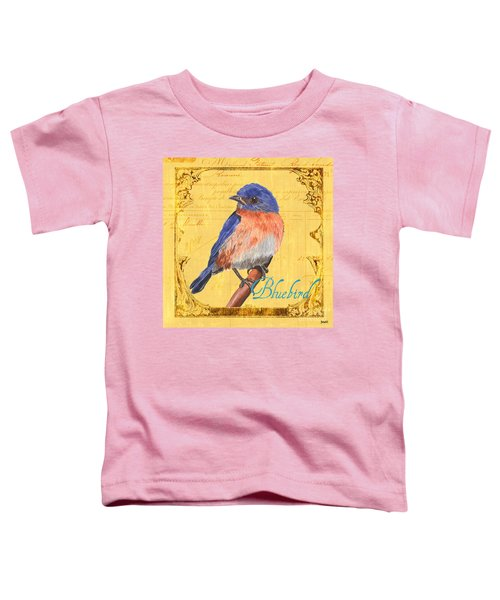 Colorful Songbirds 1 Toddler T-Shirt