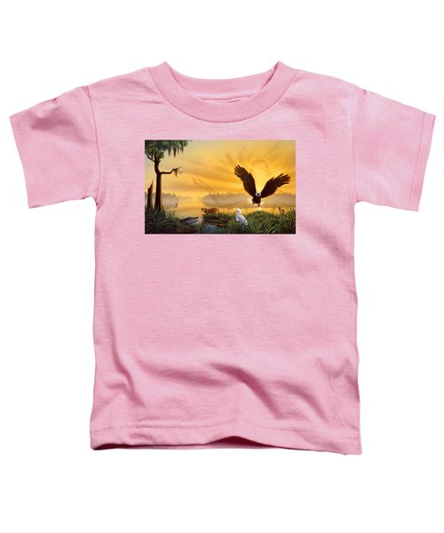 Spirit Of The Everglades Toddler T-Shirt
