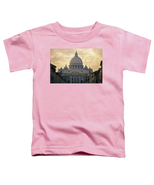 St Peter's Afternoon Glow Toddler T-Shirt