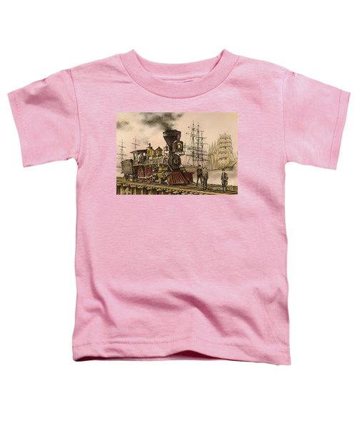 Steam And Sail Toddler T-Shirt