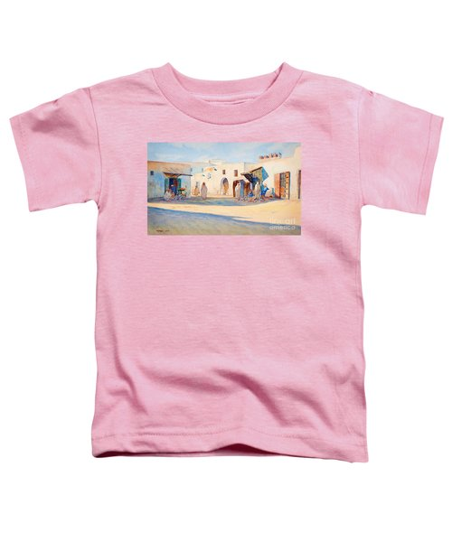Street Scene From Tunisia. Toddler T-Shirt
