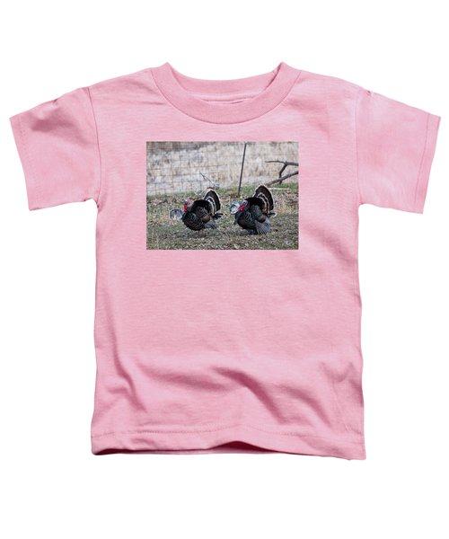 Strutting Turkeys Toddler T-Shirt