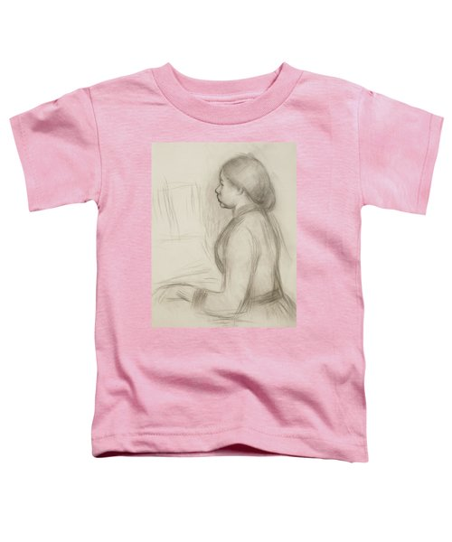 Study Of A Young Girl At The Piano Toddler T-Shirt