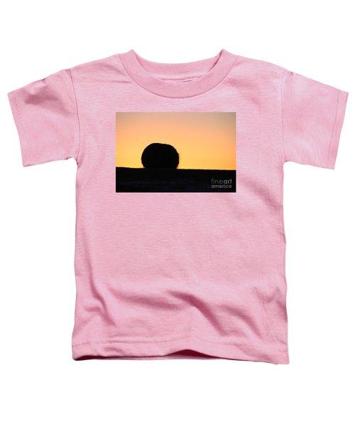 Sun Rise Silhouette Toddler T-Shirt