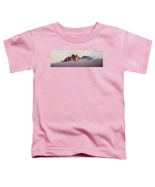 Sunrise On An Island In The Sky Toddler T-Shirt