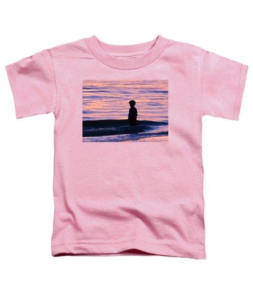 Sunset Art - Contemplation Toddler T-Shirt