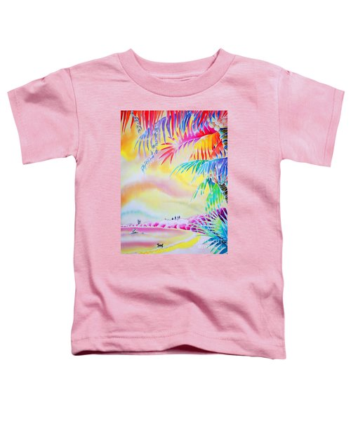 Sunset At Kuto Beach Toddler T-Shirt