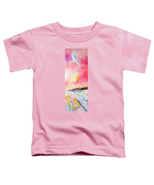 Sunset In Costa Brava Toddler T-Shirt
