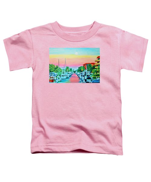 Sunset On The Canal Toddler T-Shirt
