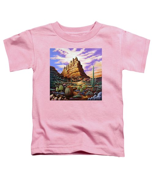 Superstition Mountains Toddler T-Shirt