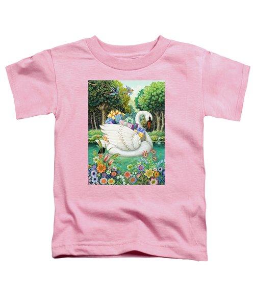 Swan Boat Toddler T-Shirt