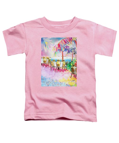 Tables On The Beach Toddler T-Shirt