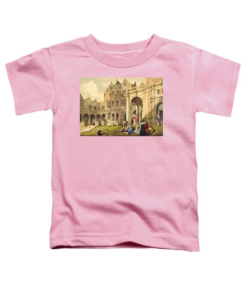 Taking Refreshment On The Terrace Lawn Toddler T-Shirt