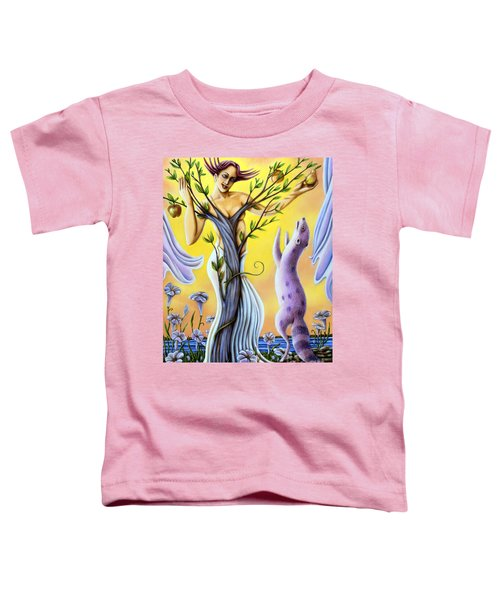 Teasing The Weasel Toddler T-Shirt
