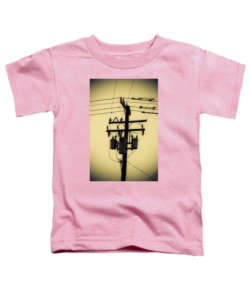 Telephone Pole 3 Toddler T-Shirt