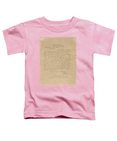 Toddler T-Shirt featuring the painting The Bixby Letter by Celestial Images