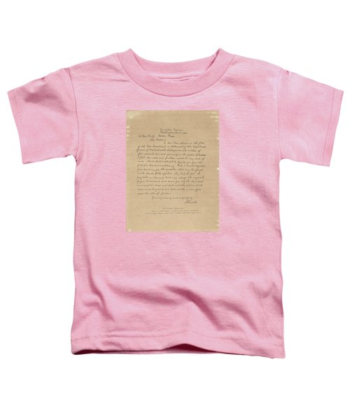 The Bixby Letter Toddler T-Shirt