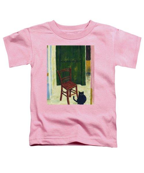The  Black Cat Toddler T-Shirt