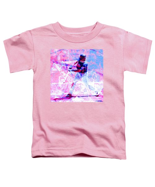 The Boys Of Summer 5d28228 The Batter Square Cool Lbb Toddler T-Shirt
