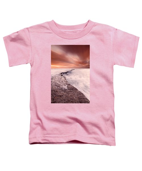 The Edge Of Earth Toddler T-Shirt
