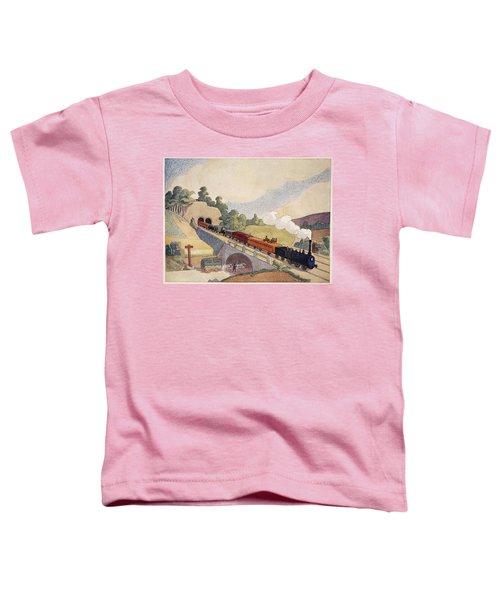 The First Paris To Rouen Railway, Copy Toddler T-Shirt