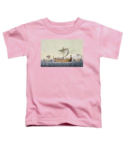 The Fleet Of William The Conqueror Toddler T-Shirt