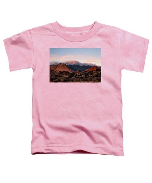 The Flow Over Pikes Peak Toddler T-Shirt