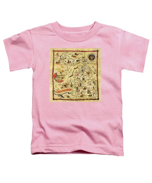 The Great Lakes State Toddler T-Shirt