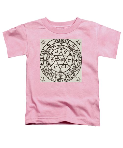 The Great Magic Circle Of Agrippa For The Evocation Of Demons Toddler T-Shirt