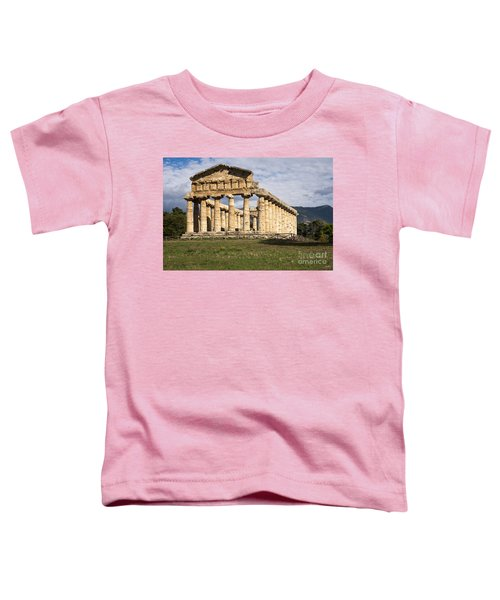 The Greek Temple Of Athena Toddler T-Shirt