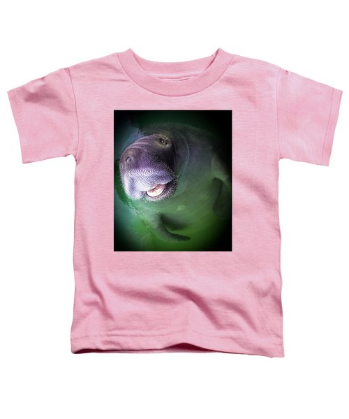 The Happy Manatee Toddler T-Shirt