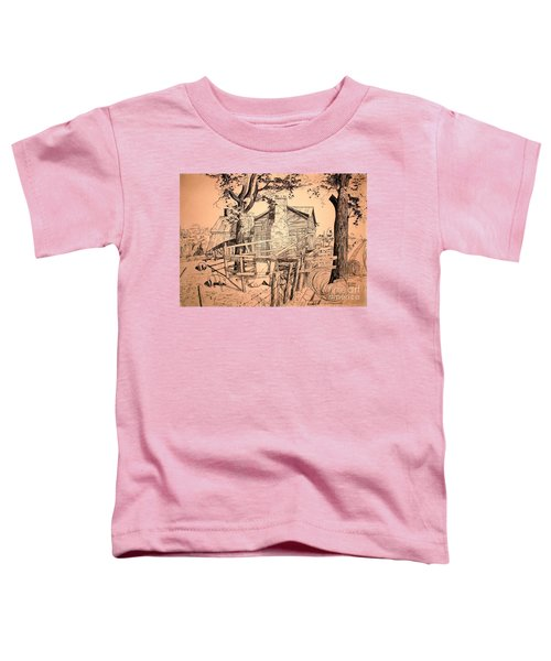 The Pig Sty Toddler T-Shirt