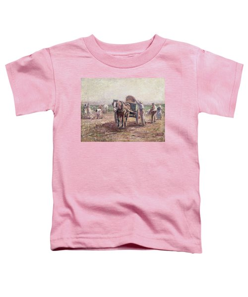 The Potato Pickers Toddler T-Shirt by Harry Fidler