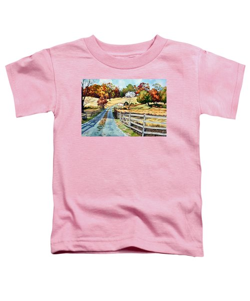 The Road To The Horse Farm Toddler T-Shirt