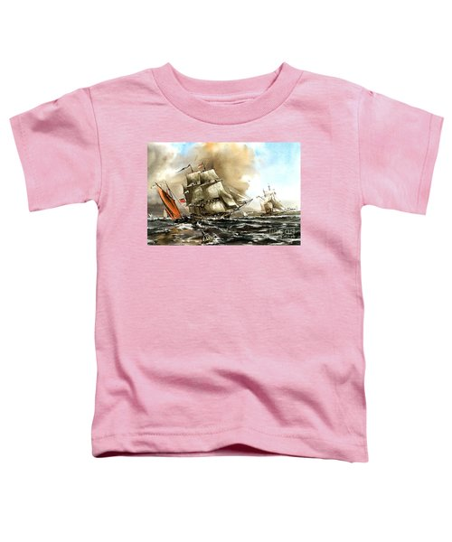 The Rose In Bantry Bay Toddler T-Shirt
