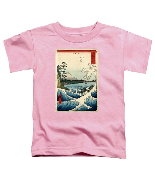 The Sea At Satta In Suruga Province Toddler T-Shirt