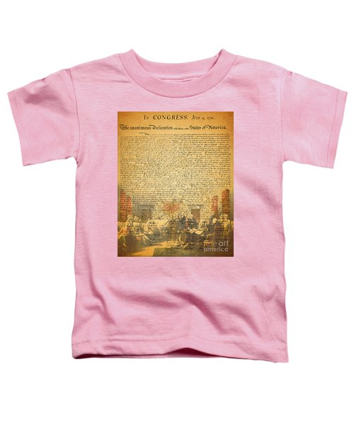 The Signing Of The United States Declaration Of Independence Toddler T-Shirt