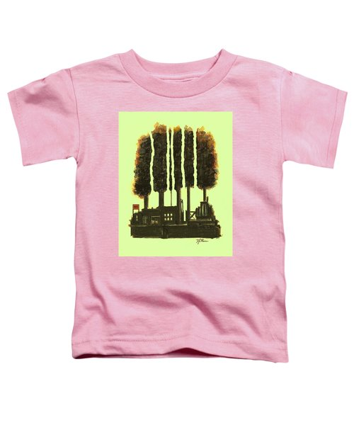 The Tree Factory  Number 3 Toddler T-Shirt