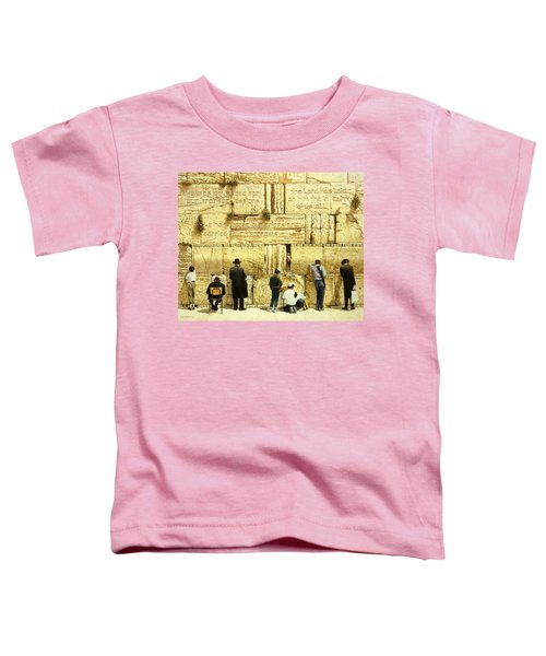 The Western Wall  Jerusalem Toddler T-Shirt