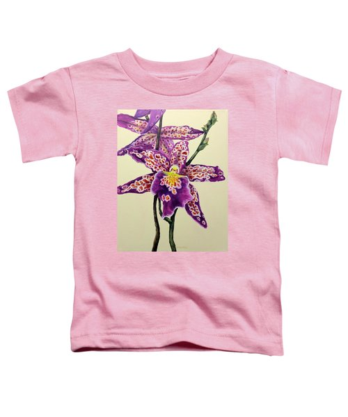 Tiger Orchid Toddler T-Shirt