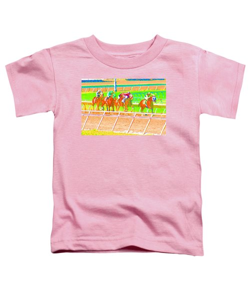 To The Finish Line Toddler T-Shirt