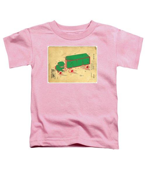 Tonka Truck Patent Toddler T-Shirt