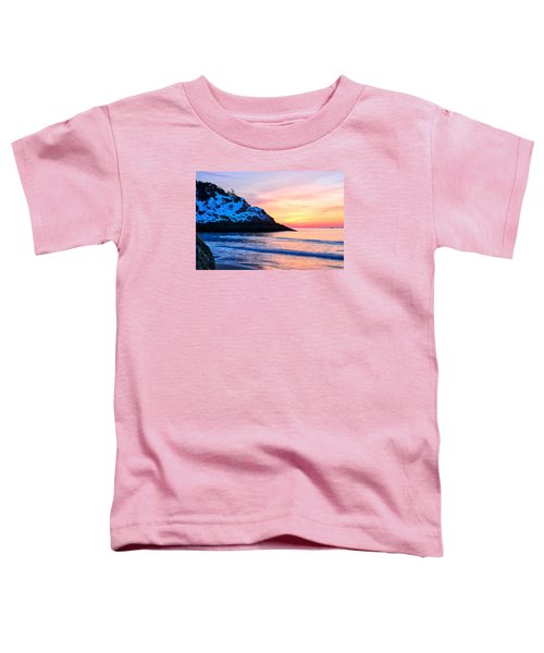 Touch Of Snow Singing Beach Toddler T-Shirt