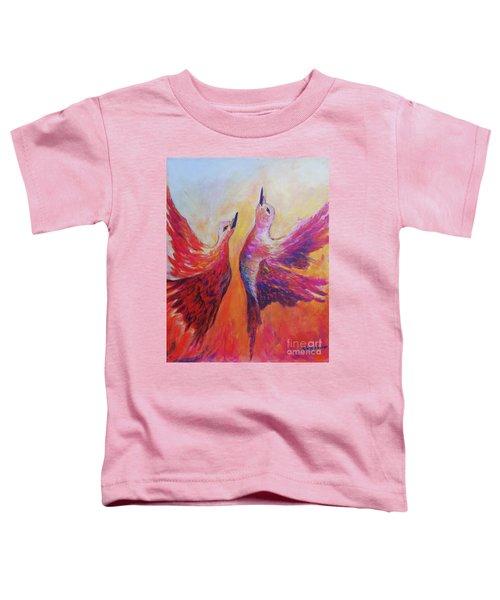 Towards Heaven Toddler T-Shirt