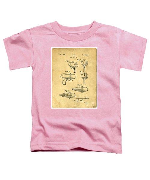 Toy Ray Gun Patent Toddler T-Shirt